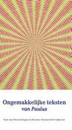 Ongemakkelijke teksten van Paulus Book Cover