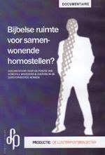 Bijbelse ruimte voor samenwonende homostellen? Book Cover