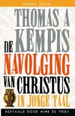 De navolging van Christus in jonge taal Book Cover
