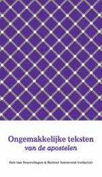 Ongemakkelijke teksten van de apostelen Book Cover