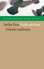 Vrede stichten Book Cover